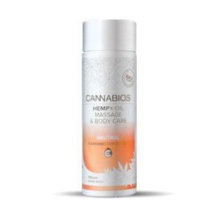 L'huile de CBD massage
