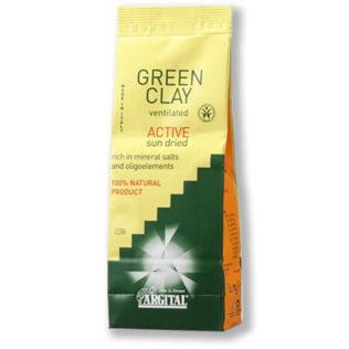 Ultra-geventileerde actieve groene klei van Argital 500g