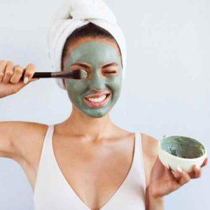 Groene klei masker recepten