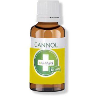 Cannol natuurlijke hennepzaadolie 30 ml