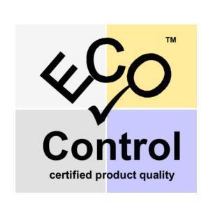 eco control cosmetica certificaat biobey