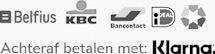Betaalmethoden bancontact kbc belfius betaal achteraf met klarna
