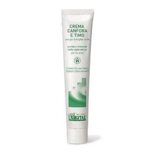 Natuurlijke Kamfer en Tijm crème tegen spierpijn