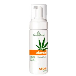 Reinigingsgel tegen acne met hennep